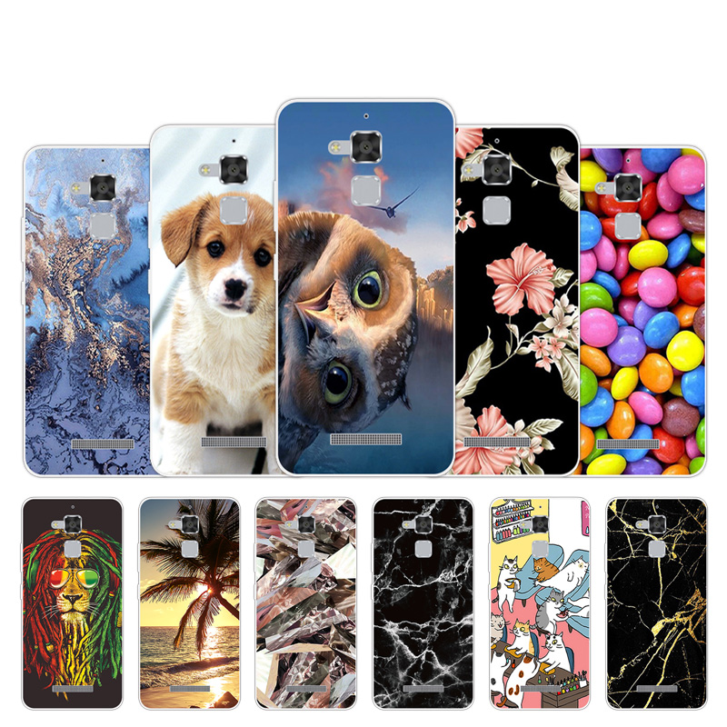 Slim Case For <font><b>Asus</b></font> Zenfone Max Pro M1 M2 ZB631KL ZB601KL GO ZB452KG Fashion Silicone Cover For <font><b>ZB500KL</b></font> ZE551ML ZB501KL ZE500KL image