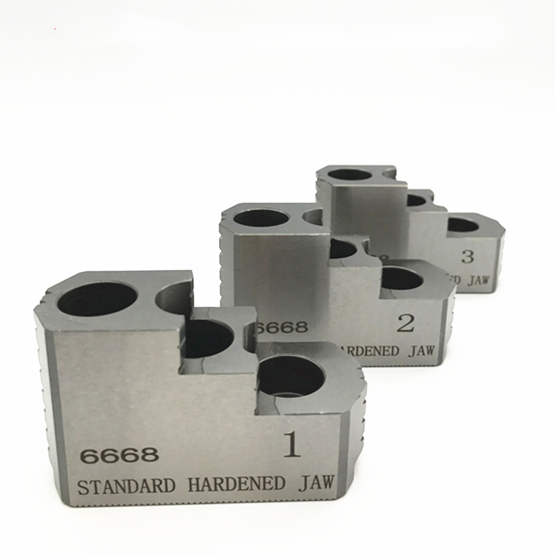 Гидравлический патрон/патрон давления масла жесткий коготь 5 6 8 10 дюймов Высокое качество стандартные гидравлические челюсти 3 челюсти для