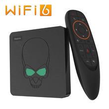 ТВ-приставка Beelink GT King, Android 9,0, Amlogic S922X, шестиядерная, G52, MP6, графика 4 Гб, LPDDR4, 64 Гб ПЗУ, 5,8 ГГц, Wi-Fi, BT 4,1, 4K, 75 Гц
