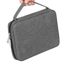 المحمولة حزام (استيك) ساعة حزام المنظم حقيبة التخزين كابل يو اس بي الناقل حقيبة يد للسفر