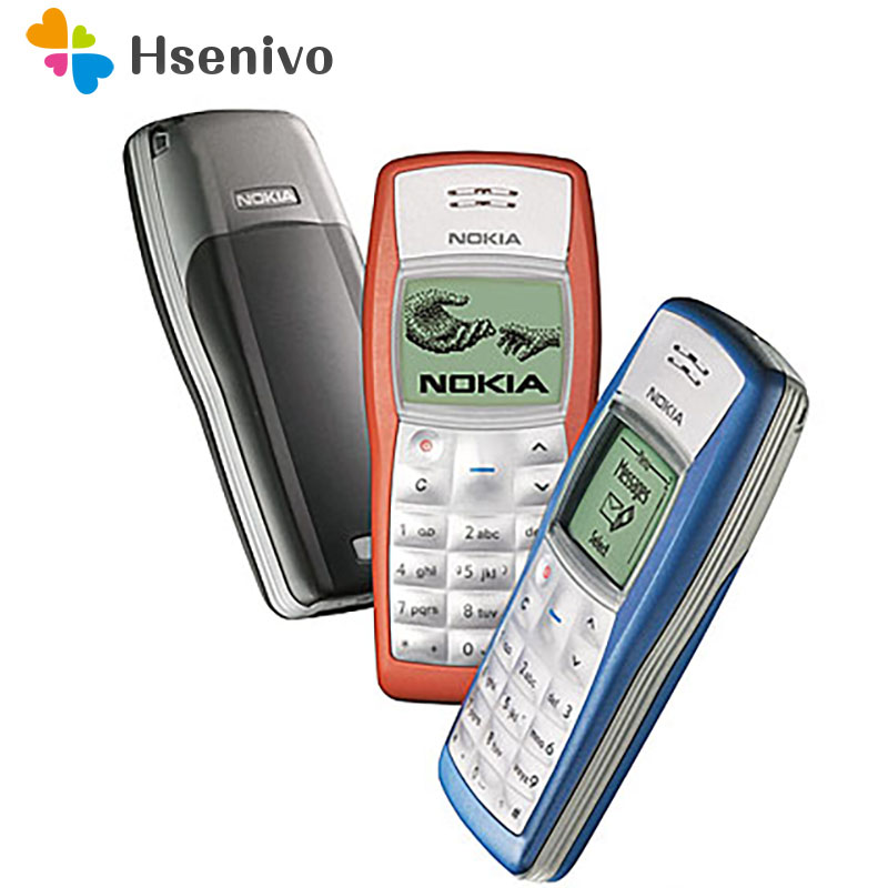 1100 Original Nokia 1100 Unlocked GSM 2G Mobile Phone Cheap Refurbished Good Nokia Cell Phone Free Shipping