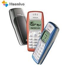 Nokia 1100 odnowiony-oryginalny Nokia 1100 Unlocked GSM 2G telefon komórkowy tanie dobry telefon komórkowy Nokia darmowa wysyłka