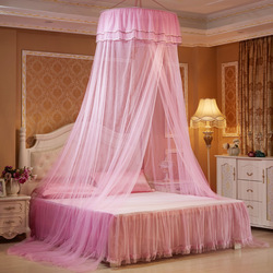 2018 Zanzariera dziecko dzieci elegancka koronka łóżko Dome Elegent dom siatki baldachim okrągły Malla De okrągły pościel moskitiera
