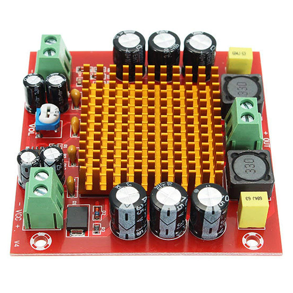 Solid DC12V 24V Practical Module Mono Channel Mini Accessories Stable Part 150W Professional Amplifier Board Digital Audio
