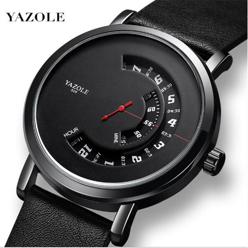 2019 Hot Sale New Turntable Waterproof Men's Watches Vibrato Explosion Creative Watch Men Quartz Watch Relogio Masculino Watch