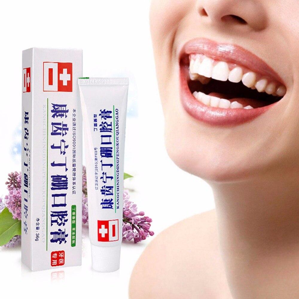 36g Mouth Cream Anti-inflammatory Analgesic Deodorant Fresh Mouth Gingo Jian Dental Care Special Toothpaste Bamboo Teeth: