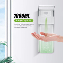 ABS Manual Soap Dispenser Elbow Press Soap Pump Wall Mounted Sanitizer Dispenser For Home Hospital Hotel Bathroom 1000ml