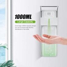 Distributeur manuel de savon mural, pompe de savon à coude, en ABS, désinfectant pour maison, hôpital, hôtel, salle de bains, 1000ml