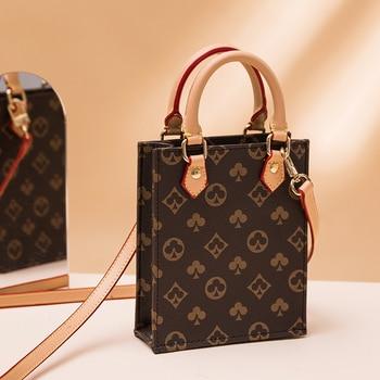 Luxury small rectangle  Printed small Handbag  1