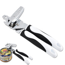Can Opener Stainless Steel Powerful Multifunctional Creative  Kitchen Accessories Tools Wine Beer Bottle Opener Cap Gun multifunctional stainless steel 8 shaped can opener creative six in one gourd shaped wine bottle opener kitchen gadgets