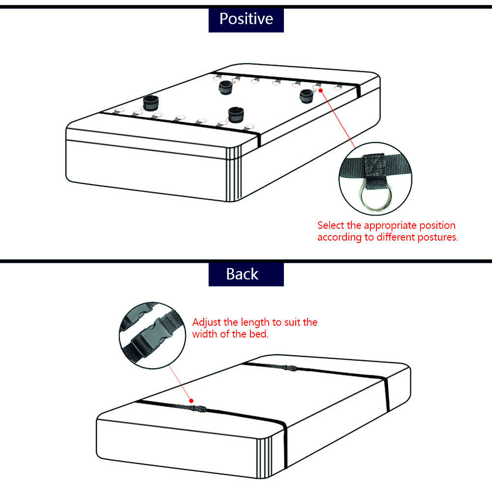 커플을위한 섹시한 수갑 조정 가능한 섹스 붕대 구속 성인 게임 침대 스트랩 페티쉬 에로틱 섹스 샵 스윙 키트 bdsm 게임