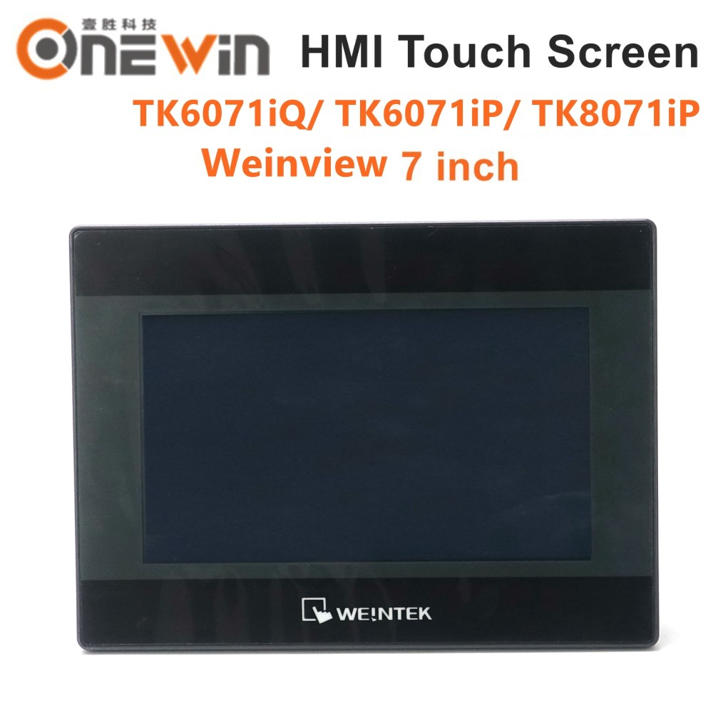 Weinview tk6071iq tk6071ip tk8071ip hmi tela de toque 7 polegada 800*480 usb ethernet nova interface da máquina humana