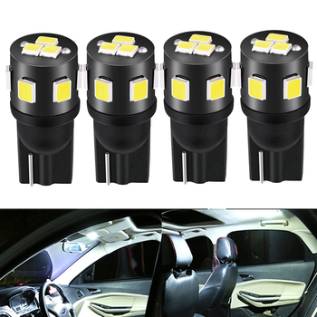 4X T10 W5W LED Car Interior Light 2835 168 194 Car Reading Lamp for BMW E46 E90 E60 E39 E36 F10 F30 X5 E53 E70 E87 M3 M5 M image