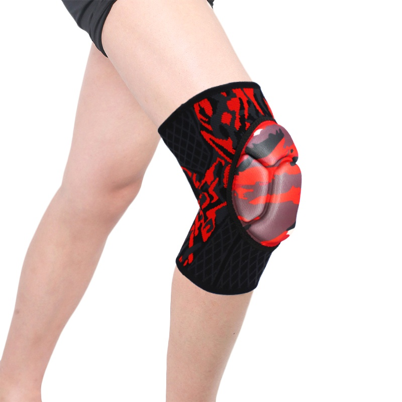 Knee Protector Volleyball Tenis Skate Dance Sponge Knee Pad Thickness EVA Crash Cushion Supports Gym Training Sports Accessories