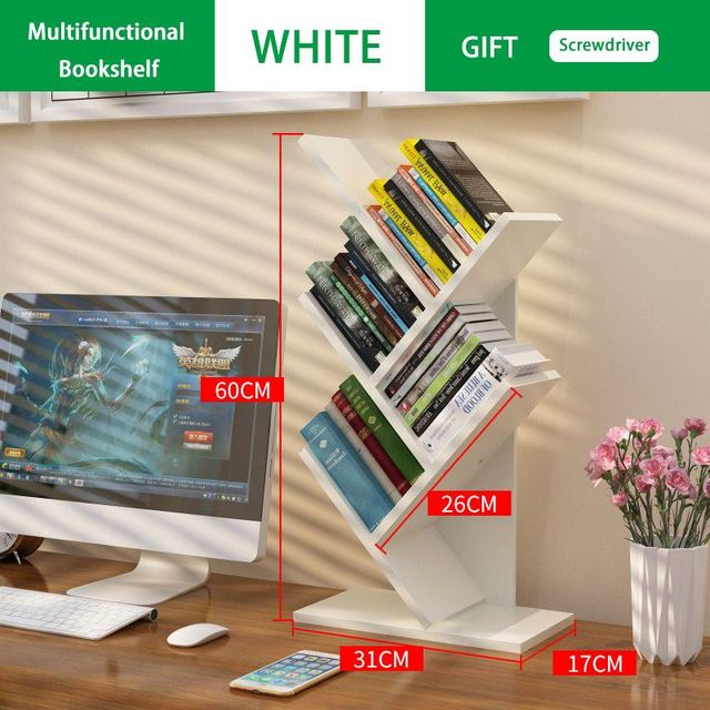 Creative Tree Shaped Bookshelf 5