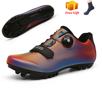 Professional Athletic Bicycle Shoes MTB Cycling Shoes Men Self-Locking Road Bike Shoes sapatilha ciclismo Women Cycling Sneakers 9