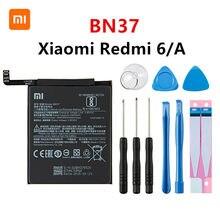 Оригинальный аккумулятор Xiao mi 100% BN37 3000 мАч для Xiaomi Redmi 6 Redmi6 Redmi 6A BN37 сменные батареи для телефона + Инструменты
