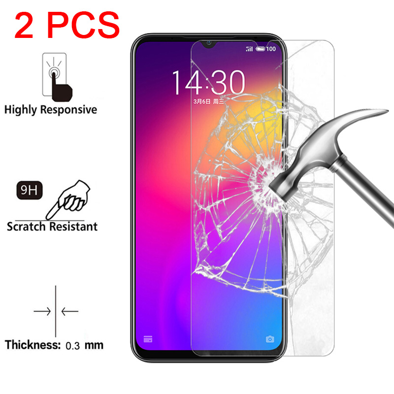 2 Pieces HD Protective Glass For Meizu M5C M5S M3S M5 M3 Note M2 Tempered Glass For Meizu M6 Note M6S M6T Film Screen Protector