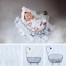 Детская железная корзина ванна для душа аксессуары детской фотосъемки