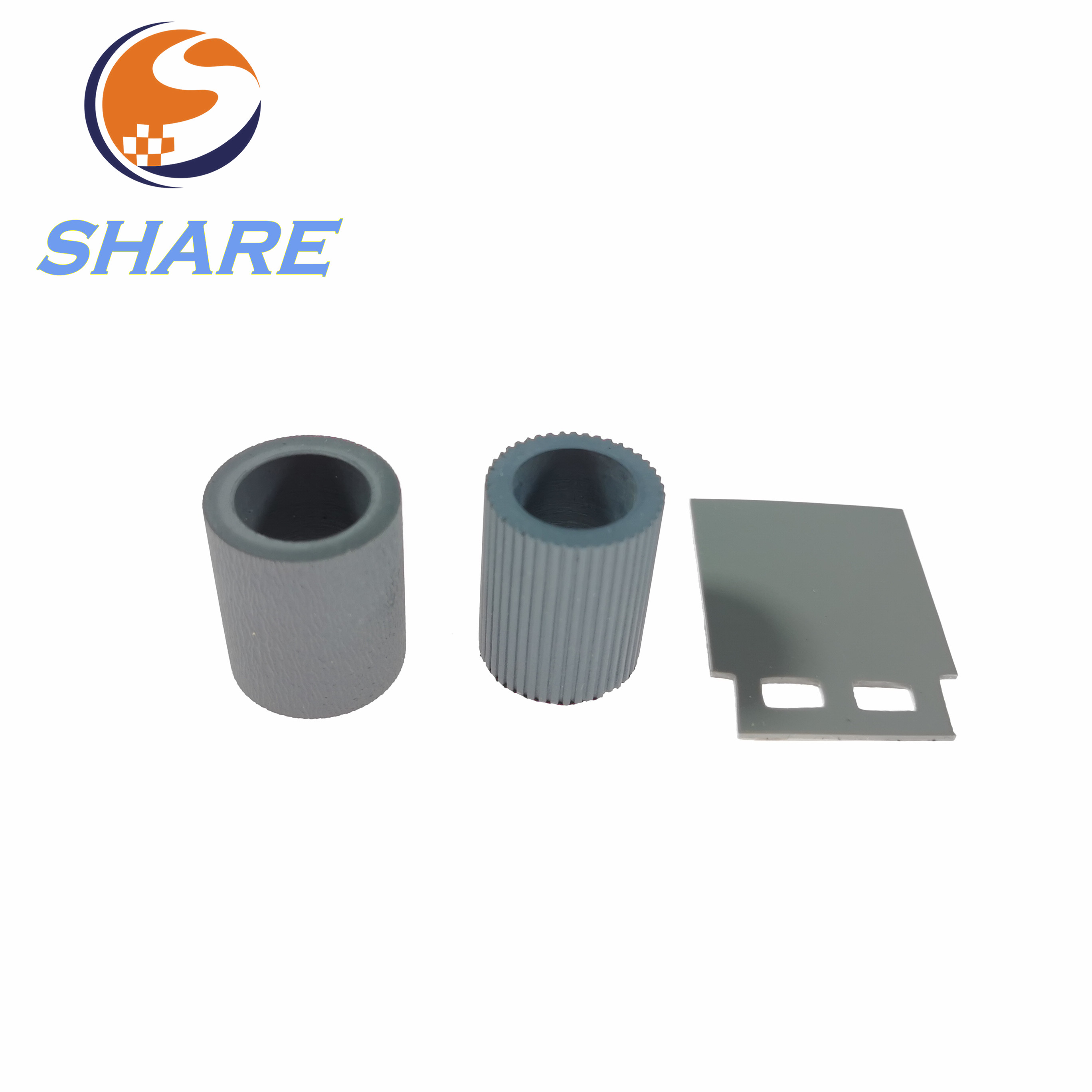 New Rubber kit ADF Separation Pad rubber Pickup Roller rubber L2685A L2685 60001 L2686A For HP Scanjet N9120 HP9120|Printer Parts| |  - title=