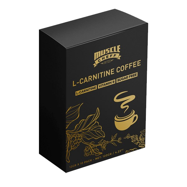 L-carnitine Coffee Nutrition Natural English Upper Supplement Strengthens Muscles And Improves Immunity 12G X 10 Pack
