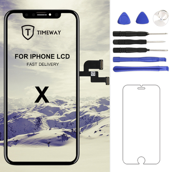 For iPhone X LCD BEST OEM XS/XS Max/XR Display With 3D Touch Screen Digitizer Assembly Replacement 11 - discount item  35% OFF Mobile Phone Parts