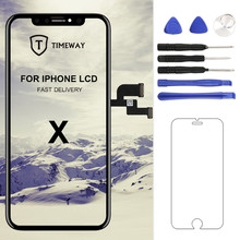 Original Für iPhone X LCD Für iPhone XS/XS Max/XR Display Mit 3D Touchscreen Digitizer Montage ersatz Für iPhone 11 LCD(China)
