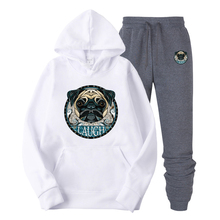 New Brand  Puppy print Hoodie Sweatshirt Men Women Autumn Winter Pullover Hoody Tops All Over Print Tracksuit Casual Clothing недорого