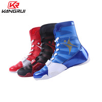 NEW Sport Boxing Shoes For Men Women High Top Wrestling Shoes Men Free Combat Shoes Sneakers Scarpe Boxe Uomo Size 36 42