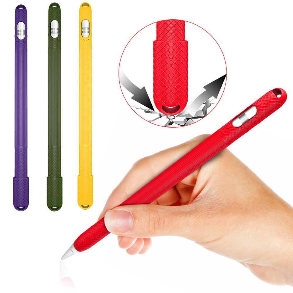 Non-Slip Stylus Pen Soft Silicone Protective Case Cover Skin For IPad Pencil 1 Gen Tablet Pen стилус для смартфона
