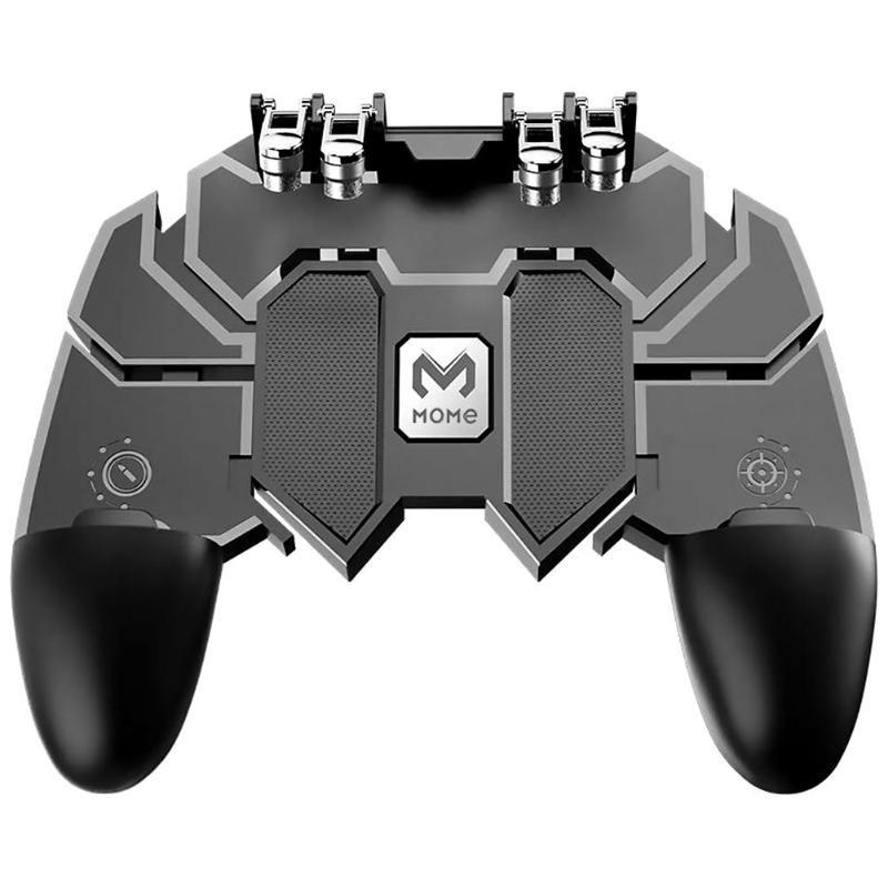 AK66 6 Fingers Trigger Gamepad Shooter Joystick Gamer Joystick Gamer Controller with for PUBG Smartphone Phone Control