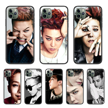 GD Kwon Ji Yong G-Dragon Painted Phone Case cover For Iphone 11 7 8 XR 5 5C 5S 6 6S PLUS X XS PRO SE 2020 MAX black Etui image