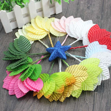 Decoration Crafts Mini Artificial Flowers for Wedding Home Decoration DIY Craft Gift