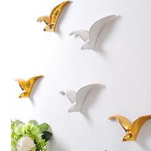 Трехмерное украшение стены Птицы дикие гусиные ремесла креативная