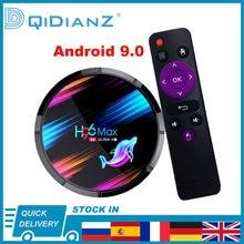 ТВ-приставка H96 MAX X3, Android 9,0, 4K, 1080P, H96MAX X3, четырехъядерный процессор Amlogic S905X3, 2,4 дюйма/5G, Wi-Fi, 8K, BT