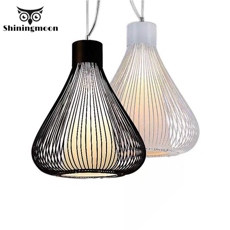 Işıklar ve Aydınlatma'ten Kolye ışıkları'de Amerikan Vintage LOFT kolye ışıkları Modern yemek odası mutfak kolye ışık ev Deco süspansiyon restoran aydınlatması Luminaria title=