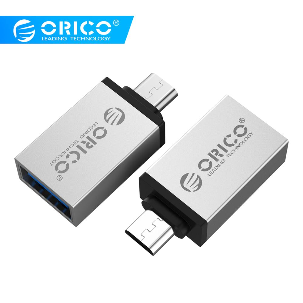 ORICO Micro B To Type C OTG Adapter USB-c USB 3.0 Converter Charging Data Sync Adapter For Xiaomi
