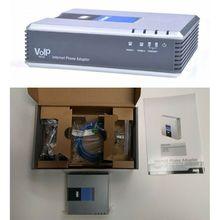 1 комплект VOIP шлюз 2 SIP порты V2 протокол Интернет Телефон речевой адаптер с сетевым кабелем для Linksys PAP2T AU/EU/US/UK Plug