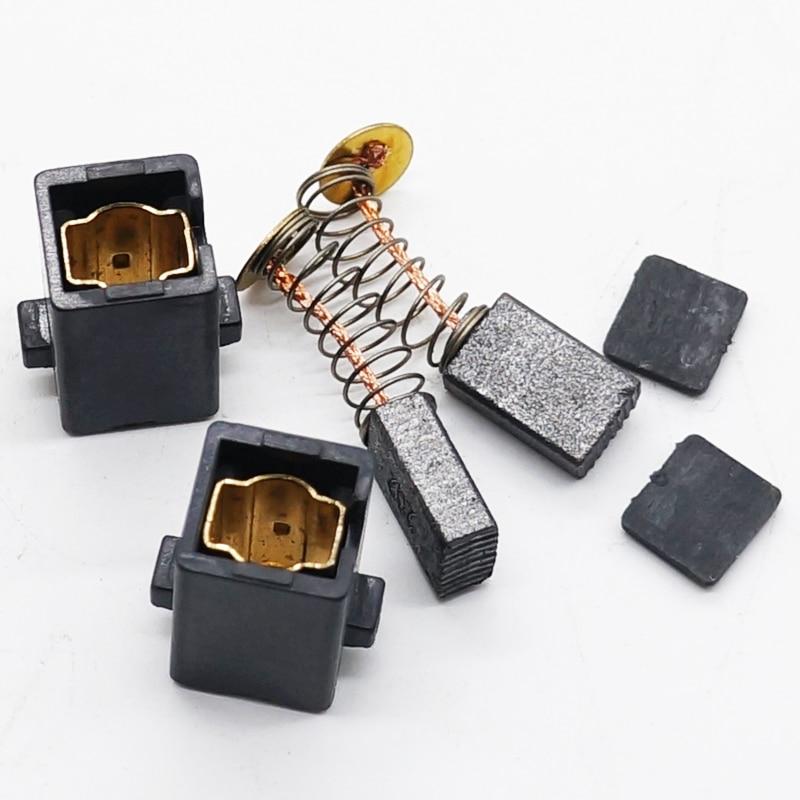 1 Pair (2pcs) Carbon Brush With Holder For BOSCH TSB 1300 5500 TSB1300 TSB5500 GSB 550 570 GSB550 GSB570 Impact Drill Spare Part