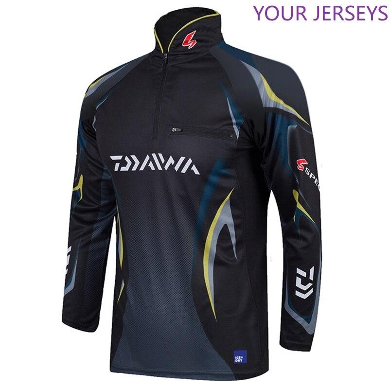 2020  New Daiwa Clothing Long Sleeved Fishing Clothes Quick-dry Shirts Breathable Fishing Jersey Bamboo Fiber Summer Fisherman C