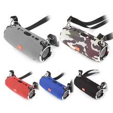 Wireless Bass Column Waterproof Bluetooth Speaker Outdoor Speaker Support AUX TF USB Subwoofer Stereo Loudspeaker