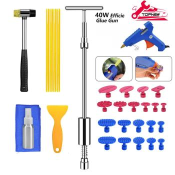 Car Body Dent Repair Kit with Slide Hammer Dent Puller for Car Body Hail Dent Remover Automobile Body Repair crane laura dent the automobile girls at chicago or winning out against heavy odds