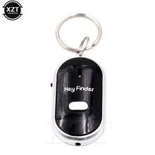 Мини-брелок со светодиодным свистком, брелок с мигающим звуком и дистанционным управлением, локатор для поиска ключей, трекер для детского ...