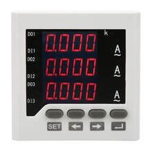Amperemeter DTM-AA72 3 Phase Strom Meter LED Digital Display Programmierbare Amperemeter AC 5A(China)