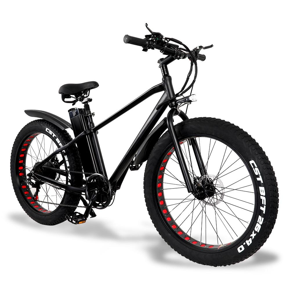 Elektrische font b bike b font 750W 4 0 fett reifen elektrische fahrrad beach cruiser font