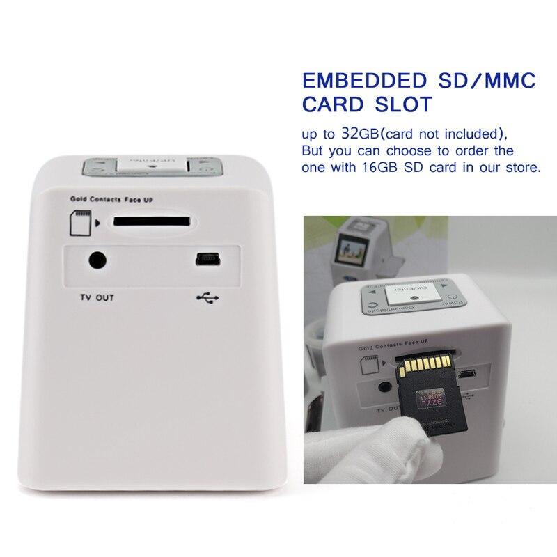 "Image 5 - 35mm Film Scanner 22 Mega Pixels Negative Slide Scanner 110 135 126KPK Digital Film Converter with 2.4""LCD Support Russian-in Scanners from Computer & Office"