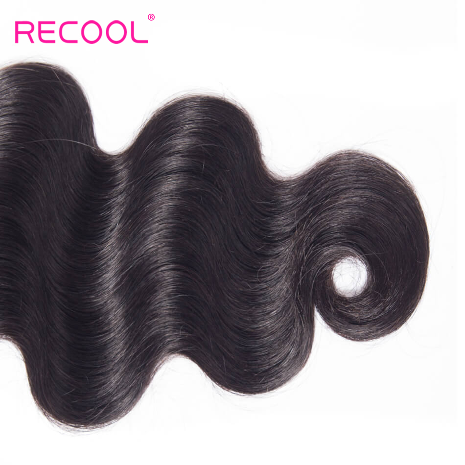 H9779f4c87b1d4c38a45f44f35482b9b65 Recool Hair Body Wave Bundles With Closure Remy Hair 6x6 and 5x5 Bundles With Closure Peruvian Human Hair 3 Bundles With Closure