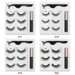 Image 4 - SEXYSHEEPขนตาปลอมEyeliner Eyelash Curler Set5แม่เหล็กธรรมชาติยาวขนตาปลอมแม่เหล็กอายไลเนอร์