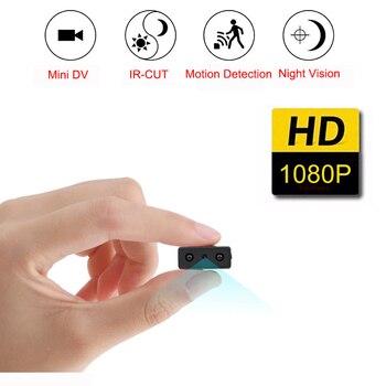 Mini caméra Full HD 1080P Mini caméscope Vision nocturne Micro caméra détection de mouvement enregistreur vocal vidéo DV Version carte SD sq11