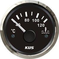 Pacote de 1 52mm 40 12 Degreee Ponteiro Tipo Medidores De Temperatura Da Água Temperatura Da Água Metros 12 v/ 24v com Sensor para o Barco Do Carro|Medidores de temperatura da água| |  -
